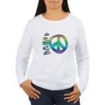 Rainbow Peace Women's Long Sleeve T-Shirt