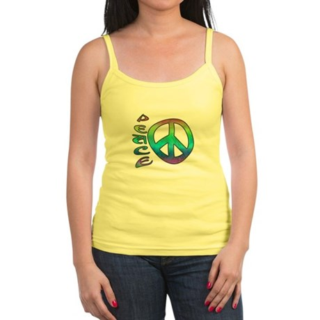 Rainbow Peace Jr. Spaghetti Tank