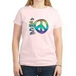 Rainbow Peace Women's Light T-Shirt
