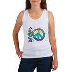 Rainbow Peace Women's Tank Top