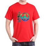 Rainbow Peace Dark T-Shirt