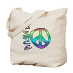 Rainbow Peace Tote Bag