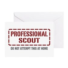 Professional Scout Greeting Card
