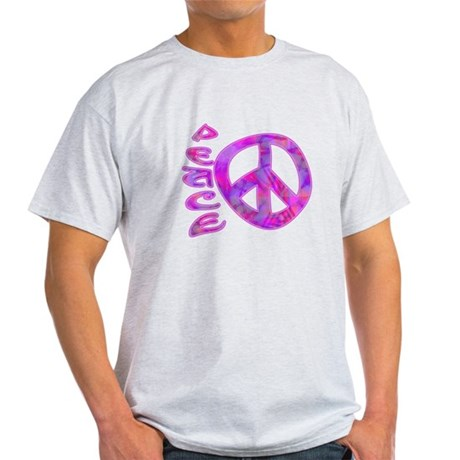 Pink Peace Light T-Shirt