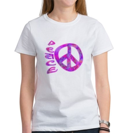 Pink Peace Women's T-Shirt
