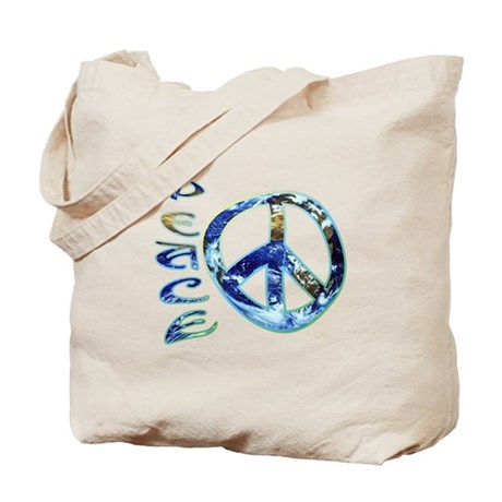 Earth Peace Tote Bag
