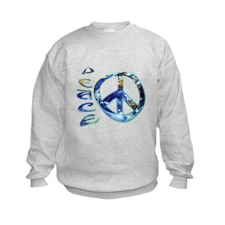 Earth Peace Kids Sweatshirt