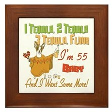 Tequila 55th Framed Tile