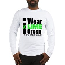 Lymphoma: I Wear Lime Green Long Sleeve T-Shirt