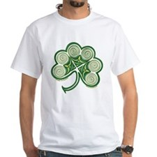 Irish Shamrock Spiral Shirt