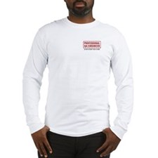 Professional QA Engineer Long Sleeve T-Shirt