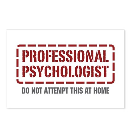 Professional Psychologist Postcards (Package of 8)