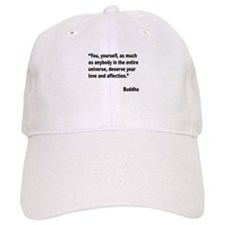Buddha Love Quote Baseball Cap
