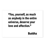 Buddha Love Quote Postcards (Package of 8)