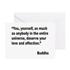 Buddha Love Quote Greeting Cards (Pk of 10)