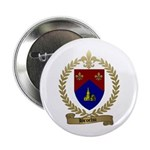BROCHU Family Crest Button