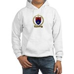 BROCHU Family Crest Hooded Sweatshirt