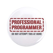 "Professional Programmer 3.5"" Button"