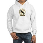 BROSSARD Family Crest Hooded Sweatshirt