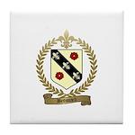 BROSSARD Family Crest Tile Coaster