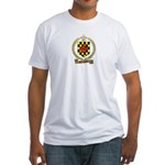 BROUSSARD Family Crest Fitted T-Shirt