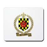 BROUSSARD Family Crest Mousepad