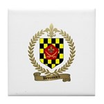 BROUSSARD Family Crest Tile Coaster