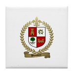 BUSSIERE Family Crest Tile Coaster