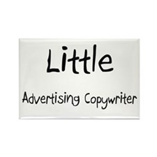 Little Advertising Copywriter Rectangle Magnet