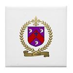 CAISSIE Family Crest Tile Coaster