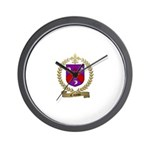 CAISSIE Family Crest Wall Clock
