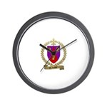 CAISSY Family Crest Wall Clock
