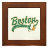 Boston Irish Framed Tile