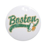 Boston Irish Ornament (Round)
