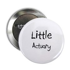 "Little Actuary 2.25"" Button"