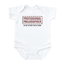 Professional Philosopher Infant Bodysuit