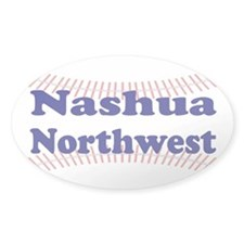 NASHUA NORTHWEST Oval Decal