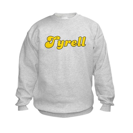 Retro Tyrell (Gold) Kids Sweatshirt