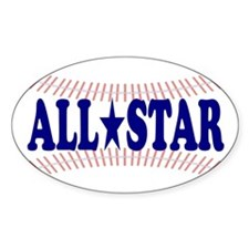 ALL*STAR Oval Decal