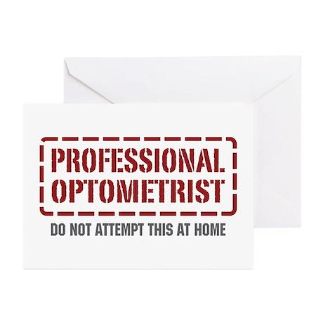 Professional Optometrist Greeting Cards (Pk of 10)