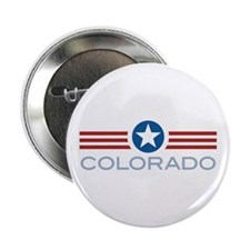 "Star Stripes Colorado 2.25"" Button (10 pack)"