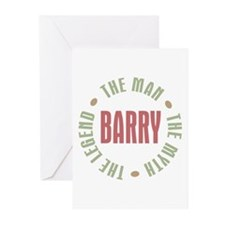 Barry Man Myth Legend Greeting Cards (Pk of 10)