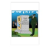 Electrician's Tomb Postcards (Package of 8)