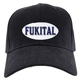 FUKITAL/BLUE FELT LOOK Baseball Hat