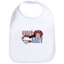 Annie Loves Andy Bib