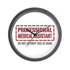 Professional Medical Assistant Wall Clock