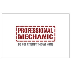 Professional Mechanic Posters
