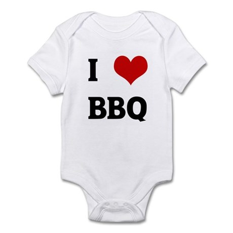 I Love BBQ Infant Bodysuit