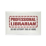 Professional Librarian Rectangle Magnet (100 pack)