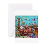 Scuba 50 Bar Greeting Card